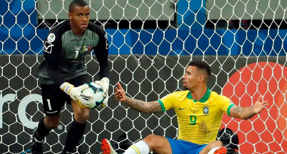 Brasil no pudo ni con Venezuela, ni con el VAR. | EFE