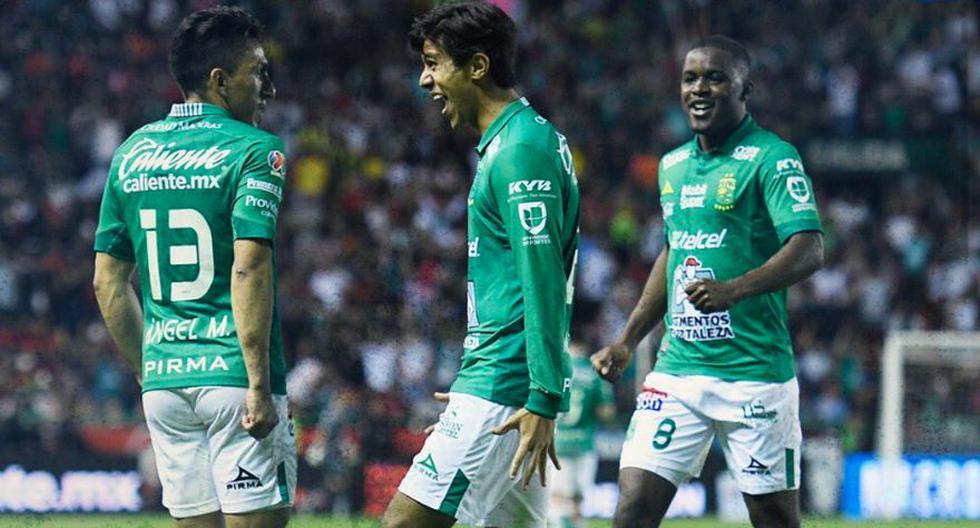 León derrotó a Puebla e impone récord de victorias consecutivas en el fútbol mexicano.