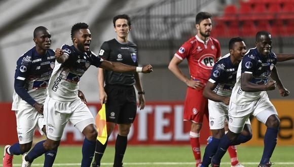 Junior eliminó a Unión La Calera por penales y pasó a los cuartos de final de la Copa Sudamericana. (Foto: AFP)