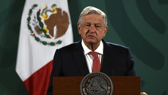 Imagen del presidente de México, Andrés Manuel López Obrador. (ALFREDO ESTRELLA / AE / AFP).