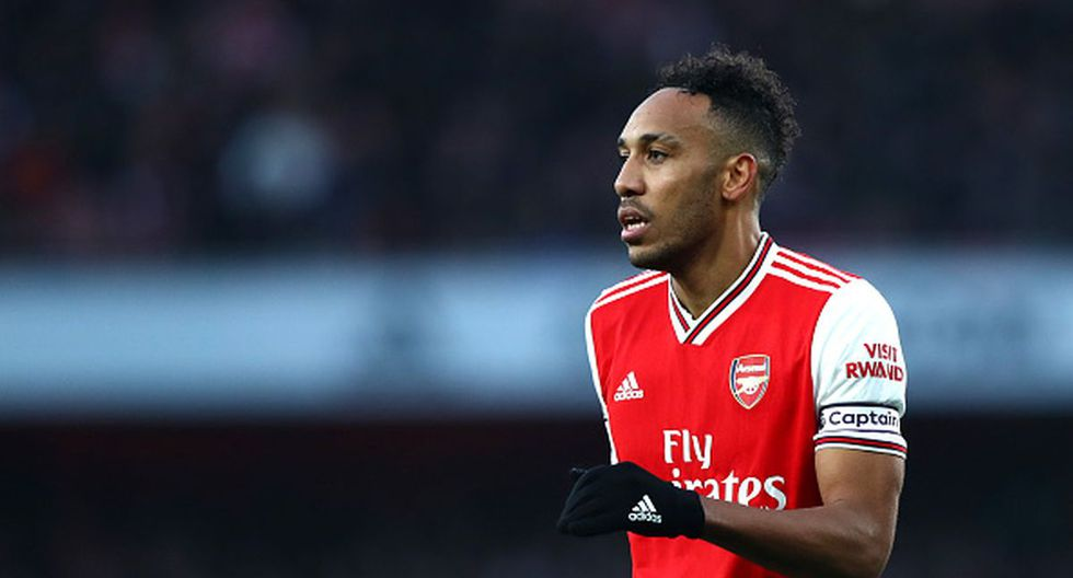12. Pierre Emerick Aubameyang - Arsenal - 15 goles - 30 puntos (Getty)