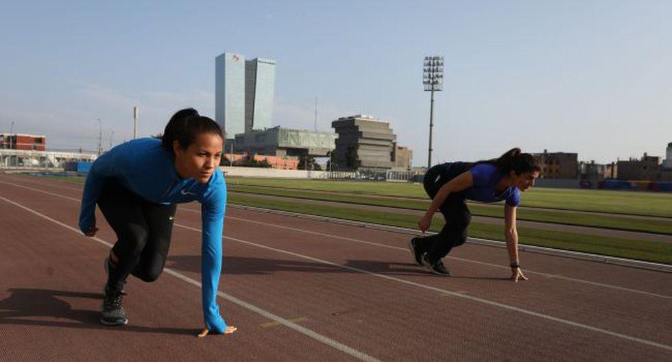 Deportistas volvieron a los entrenamientos en el Estadio Atlético de la Videna . (Fotos: Legado Lima 2019)