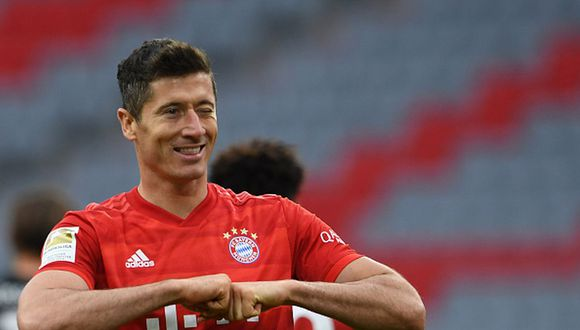 Robert Lewandowski es el actual máximo goleador del Bayern Munich en la temporada. (Foto: Getty Images)