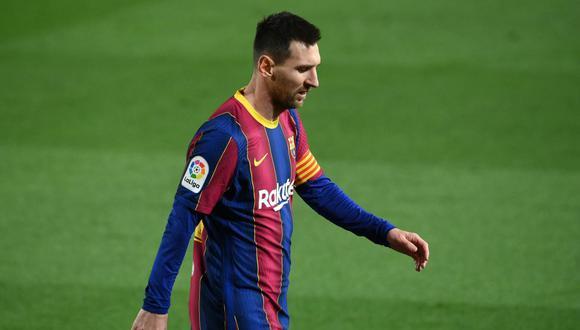 La decepcionante actuación de Lionel Messi que puede definir su futuro con Barcelona. (Foto: AFP)
