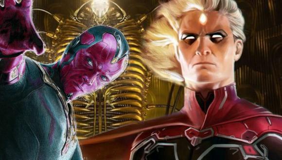 Marvel: Vision y Adam Warlock tendrían esta interesante relación con la Fase 4 del UCM
