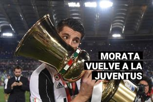 Regresa a Turín: Álvaro Morata fue anunciado como nuevo jugador de la Juventus