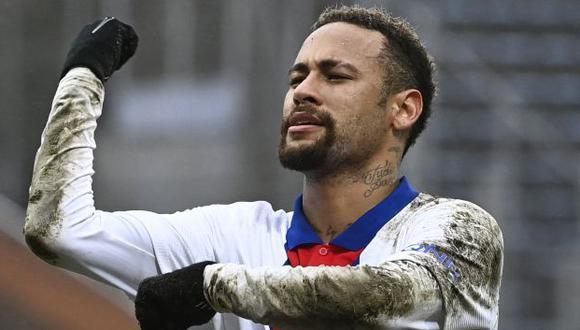Neymar hizo una divertida publicación tras el desenlace del Palmeiras-Flamengo. (Foto: AFP)