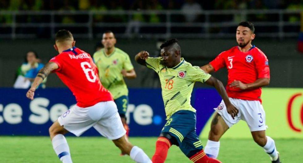 Se metieron en la siguiente fase: Colombia empató con Chile y avanzó en el Preolímpico Sub-23.