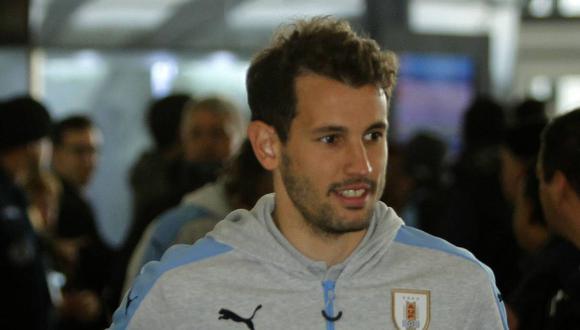 Cristhian Stuani no estará en los partidos de la selección uruguaya contra Perú. (Foto: EFE)
