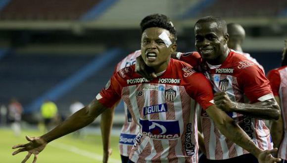Junior venció por 2-1 a Fluminense en la Jornada 5 de la Copa Libertadores 2021. (Foto: Twitter)