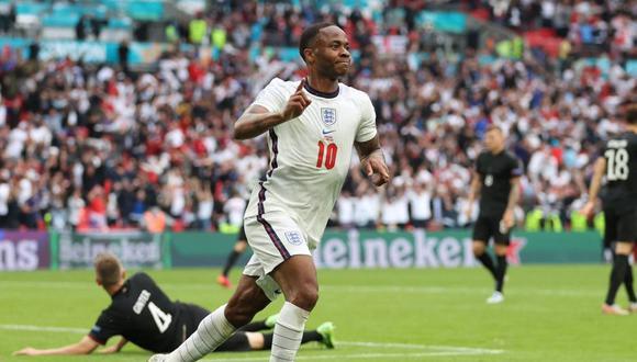 Inglaterra venció 2-0 a Alemania y avanza a cuartos de final de la Eurocopa 2020. (AFP)