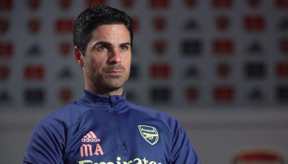 Arteta dirige al Arsenal desde el año pasado. (Foto: Twitter de @afcstuff)