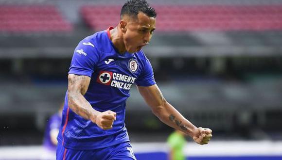 Yoshimar Yotún es una de las piezas clave del Cruz Azul en la actual temporada de la Liga MX 2021. (Foto: Twitter)