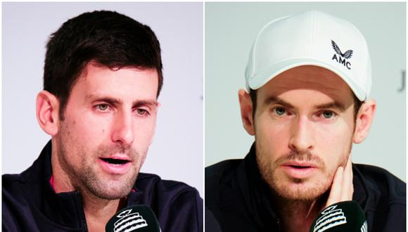 Novak Djokovic y Andy Murray, ambos han ganado en total 19 Grand Slam (16 el serbio y 3 el británico). (Foto: Getty Images)