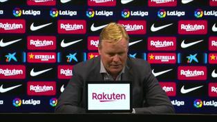 """Ronald Koeman tras la derrota del Barcelona: """"Hemos demostrado que no somos inferiores al Madrid"""""""