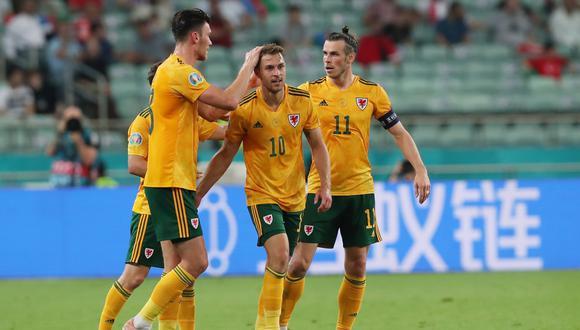 Gales venció a Turquía por la Eurocopa 2021. (Foto: EFE)