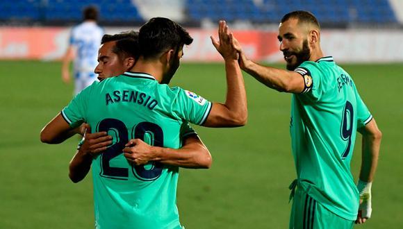 Real Madrid enfrentó al Leganés por la última fecha de LaLiga (Foto: AP)