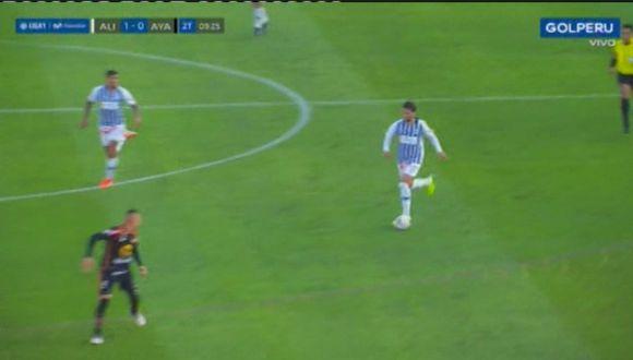 Felipe Rodríguez y la 'ruleta' que casi acaba en golazo de Joazinho Arroe. (Video: GOLPERU)
