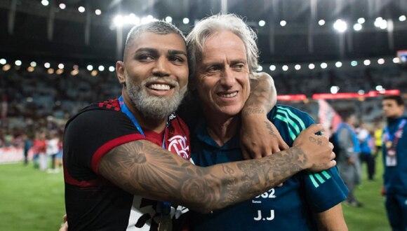 El técnico del Flamengo dio positivo en prueba por coronavirus.