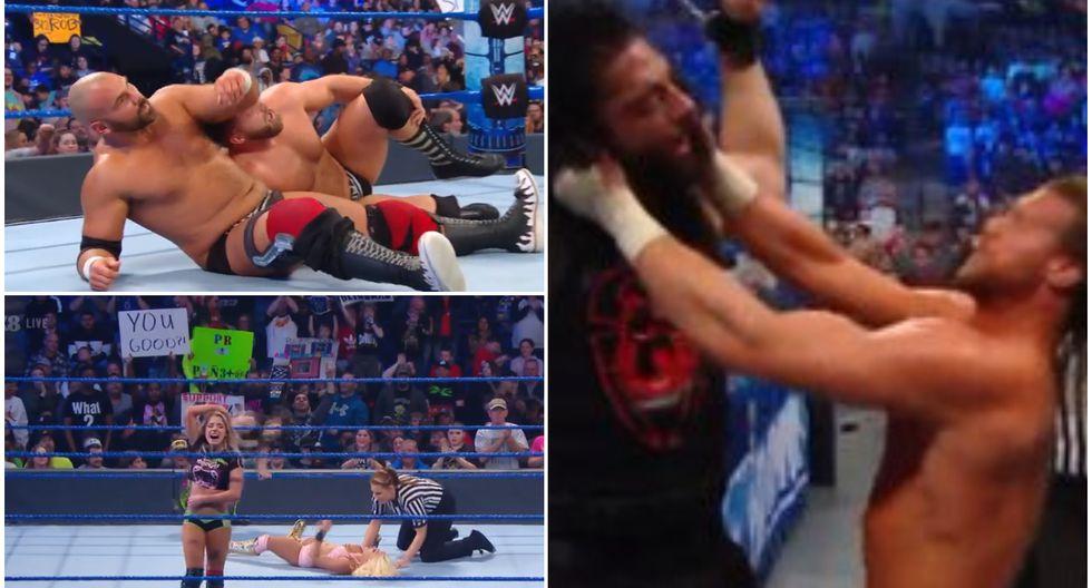Conoce todos los resultados del Friday Night SmackDown  de Carolina del Norte. (Foto: WWE)