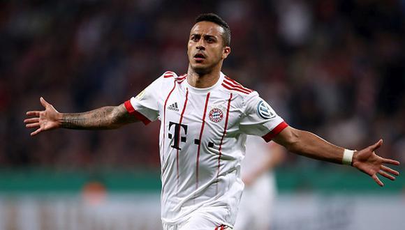 Thiago Alcántara llegó al Bayern a pedido de Guardiola en el 2013. (Getty)