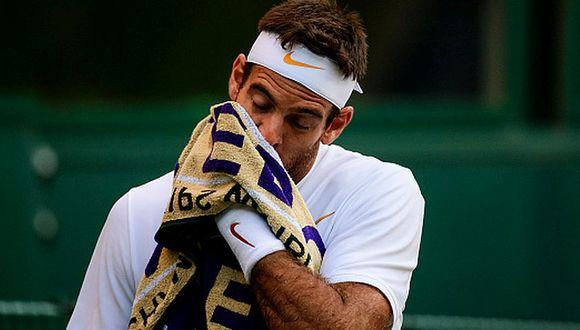 Del Potro llegó al torneo como número 4 del ránking mundial. (Getty Images)