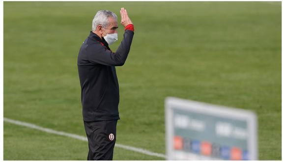 Gregorio Pérez analizó la última victoria de Universitario. (Foto: Liga 1)