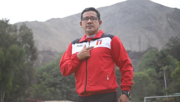 Javier Chirinos se convirtió en presidente de la Federación Peruana de Atletismo. (IPD)