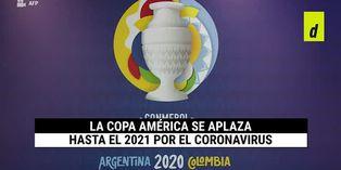 Se suspende la Copa América 2020 por el coronavirus