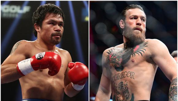 Boxeo: Manny Pacquiao firmó por la misma agencia que representa a Conor McGregor. (Getty Images)