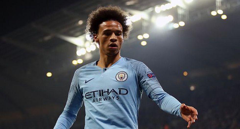 Sané llegó al Manchester City procedente del Schalke 04. (Foto: Getty Images)