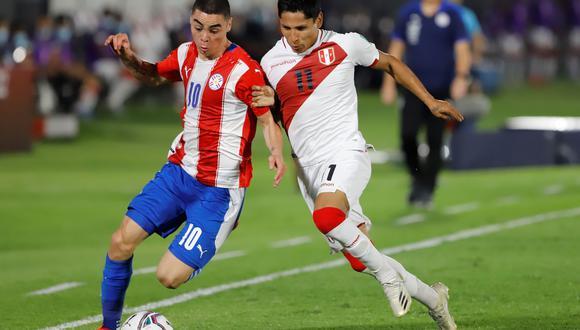 Raúl Ruidíaz fue desconvocado por lesión (EFE/ Nathalia Aguilar)