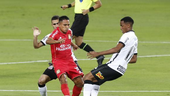 Sport Huancayo visita a Corinthians por Copa Sudamericana 2021. (Foto: Violeta Ayasta/@photo.gec)