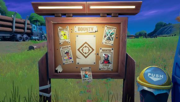 Fortnite Temporada 6: la ubicación de todos los tableros de recompensa en el mapa