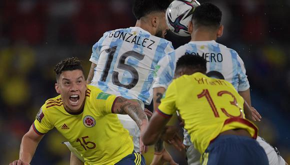 Argentina empató 2-2 ante Colombia por la fecha 8 de las Eliminatorias Qatar 2022. Un partido atractivo de inicio a fin y aquí todos los goles. (Foto: AFP)