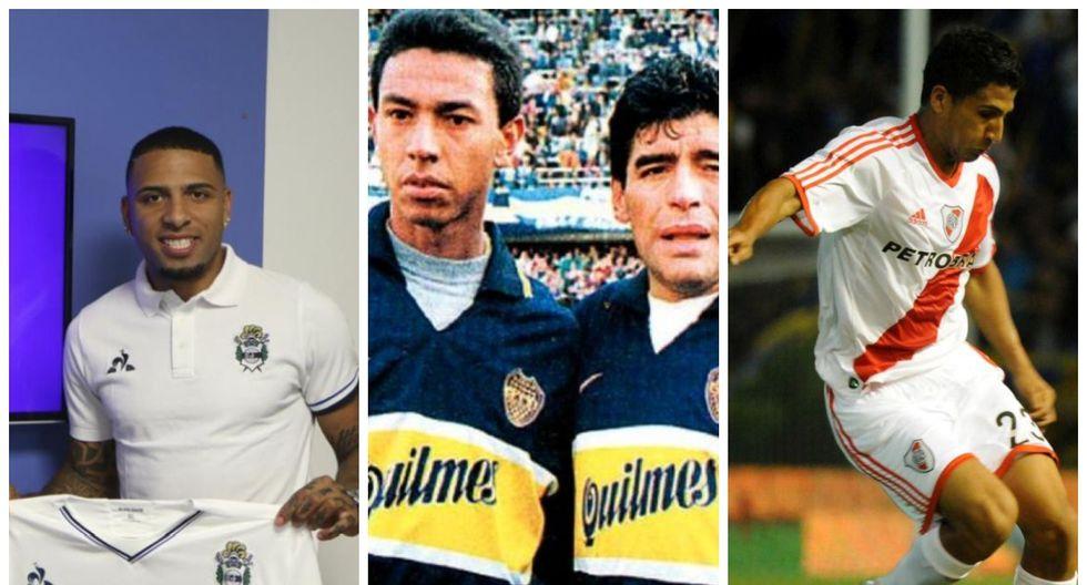 Peruanos que disputaron el torneo argentino.