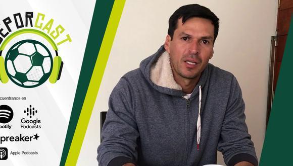 Jorge Araujo en una entrevista con DeporCast. (Foto: Composición de Depor)