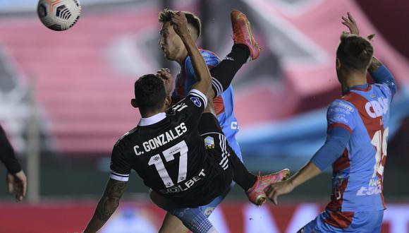 Christofer Gonzales tiene 174 minutos en la Sudamericana (Foto: AP)