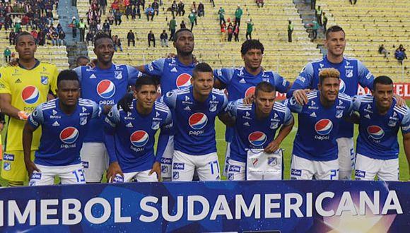 Millonarios cayó 1-0 ante Always Ready pero clasificó a la siguiente fase de la Copa  Sudamericana 2020. (Foto: Twitter)
