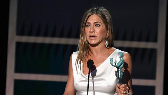 Jennifer Aniston protagonizó la portada de la revista estadounidense InStyle. (Foto: Robyn Beck / AFP)