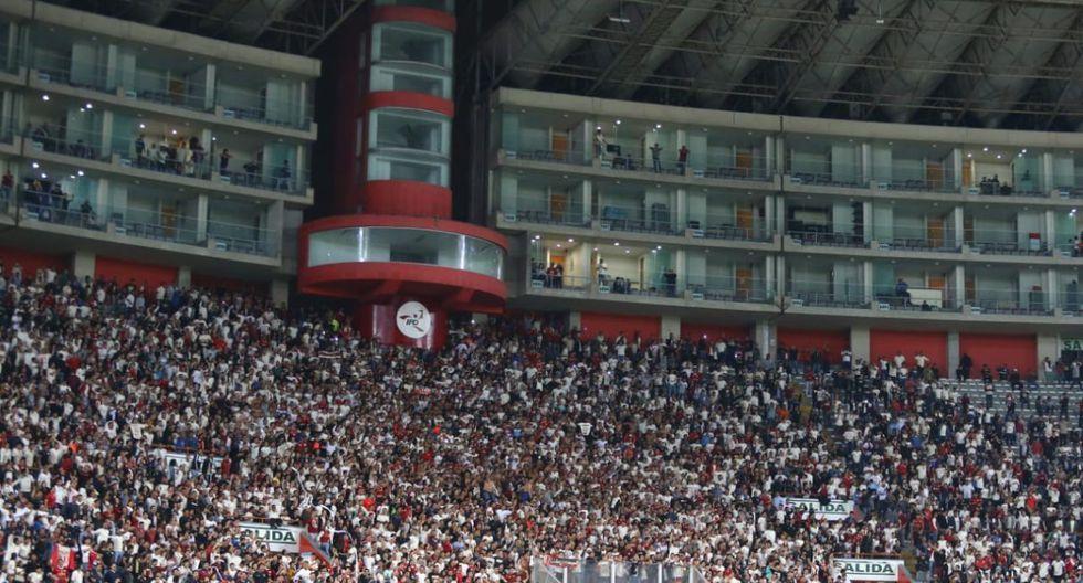 Así alentaron los hinchas de Universitario. (Video: Universitario / Foto: Fernando Sangama)
