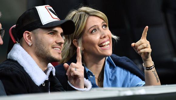 Wanda Nara confirmó si Mauro Icardi se queda o se va del Inter de Milán. (Getty)