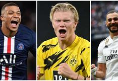 Erling Haaland el amo y señor: así quedó la tabla de goleadores de Champions League [FOTOS]