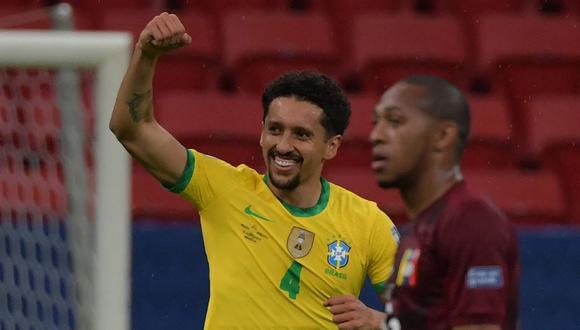Brasil vence a Venezuela en Copa América y consigue tres puntos en el debut por la primera fecha del grupo B. (Foto: AFP)