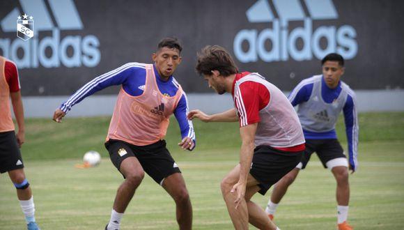 Christofer Gonzales y Omar Merlo ya entrenan con normalidad. (GEC)