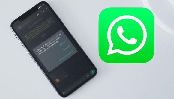 ¿Sabes cómo poder hablar con una persona que te bloqueó en WhatsApp? Usa este truco. (Foto: Mockup)