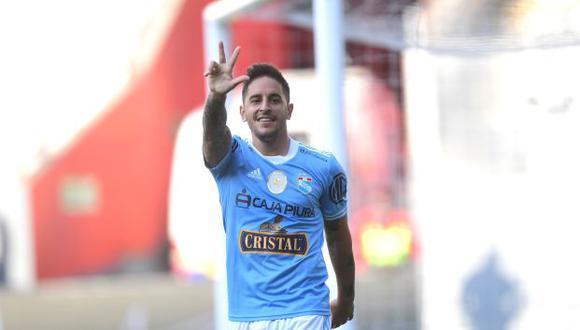Alejandro Hohberg lleva cuatro goles marcados con la camiseta de Sporting Cristal. (Foto: Liga 1)