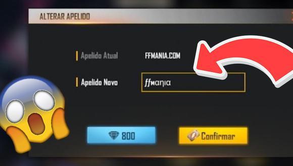 Free Fire: guía para cambiar el nickname (IGN) de la cuenta gratis y sin hacks