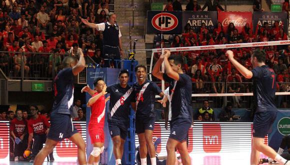 Este equipo de vóley masculino nos representó en los Juegos Panamericanos y en el Preolímpico. (Foto: FIVB)