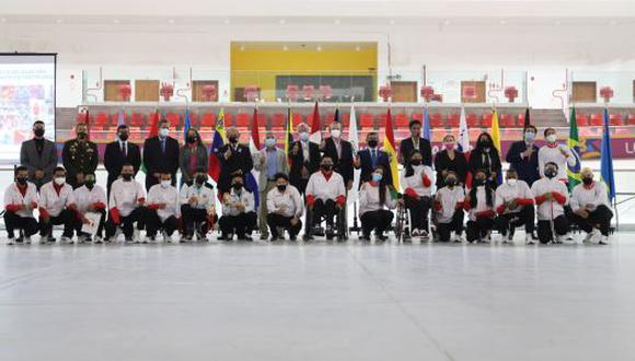 Se hizo importante reconocimiento a la delegación peruana que participó en Tokio 2020. (Difusión)